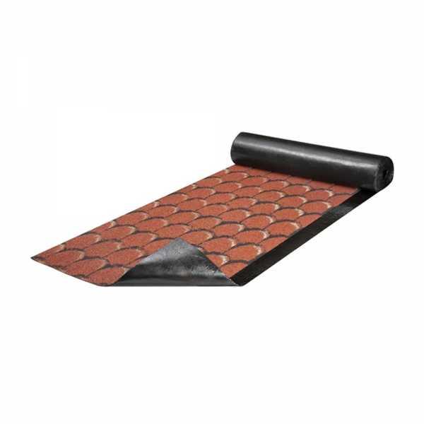 Villas E-G 4 S/K HF V Color hódfarkú bitumenes lemez - 10 m (vörös)